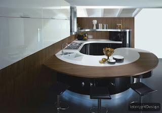 Round Countertop Kitchen 14