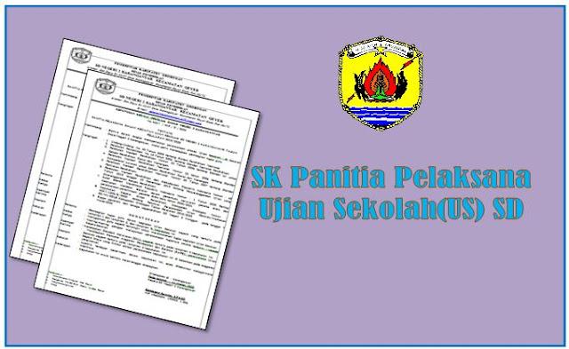Contoh SK Panitia Pelaksana Kegiatan US
