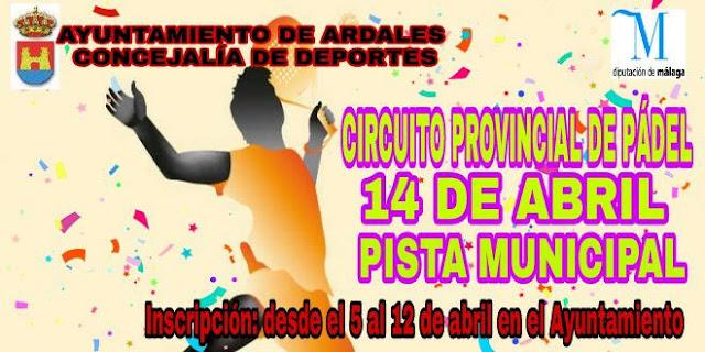 Circuito Provincial de Pádel en Ardales