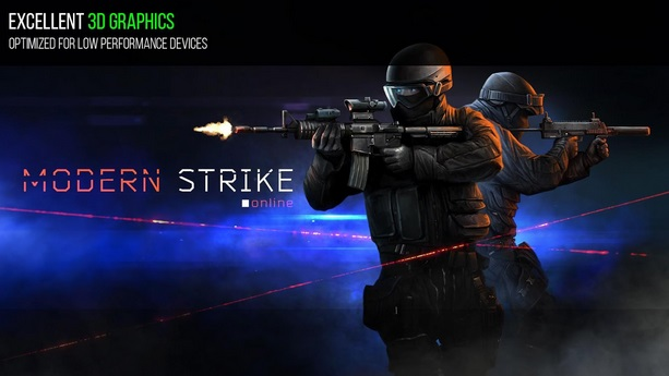 Modern Strike Online excellent 3d graphhics