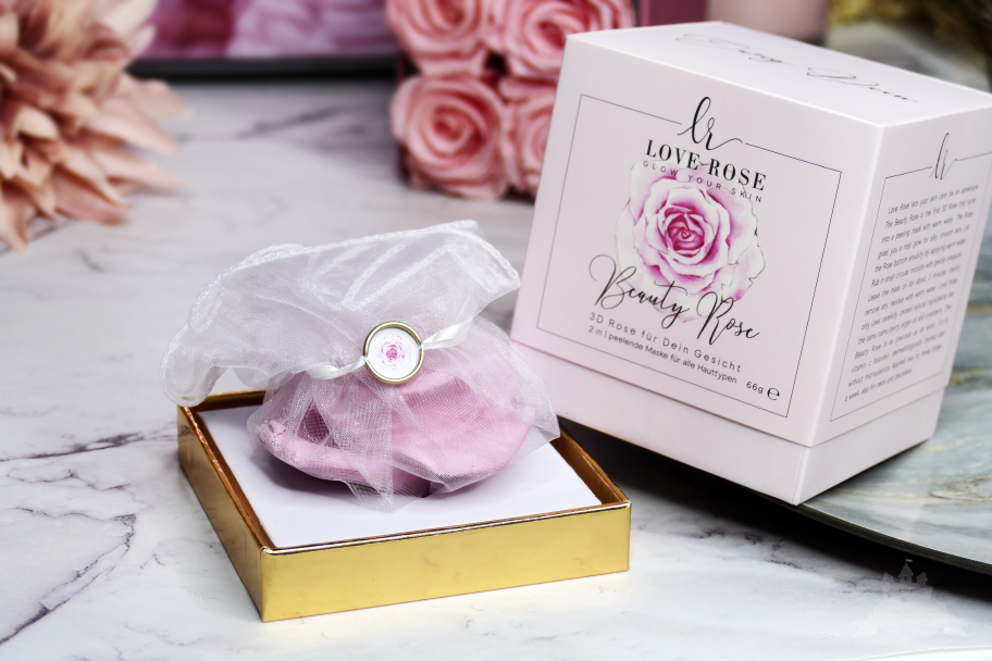 3D Beauty Rose von Love Rose Cosmetics Verpackung