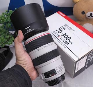 Jual Lensa Canon 70-300mm f4-5.6L IS USM