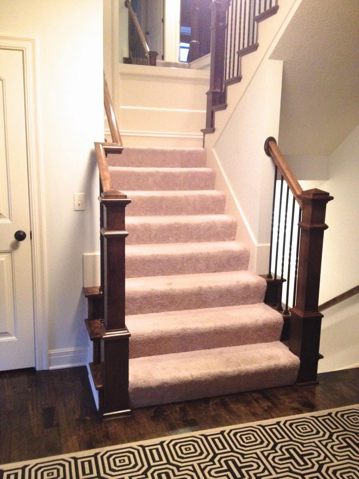 Life Love Larson New Hardwoods Amp Stair Carpet