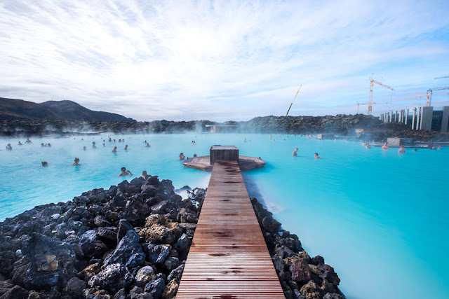 Iceland's Blue Lagoon is a must-see on your road trip itinerary