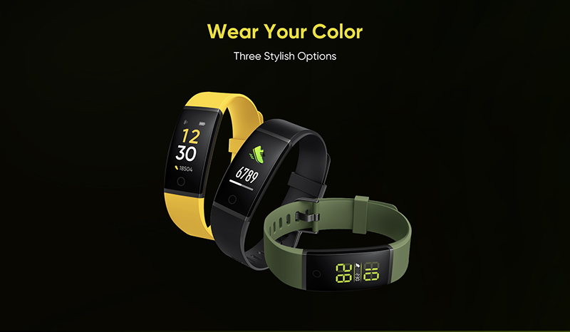 Realme's upcoming fitness band will come with a heart rate monitor
