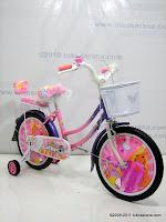 Sepeda Anak Kasea 1607 Girl dengan Dop Tutup Pelek