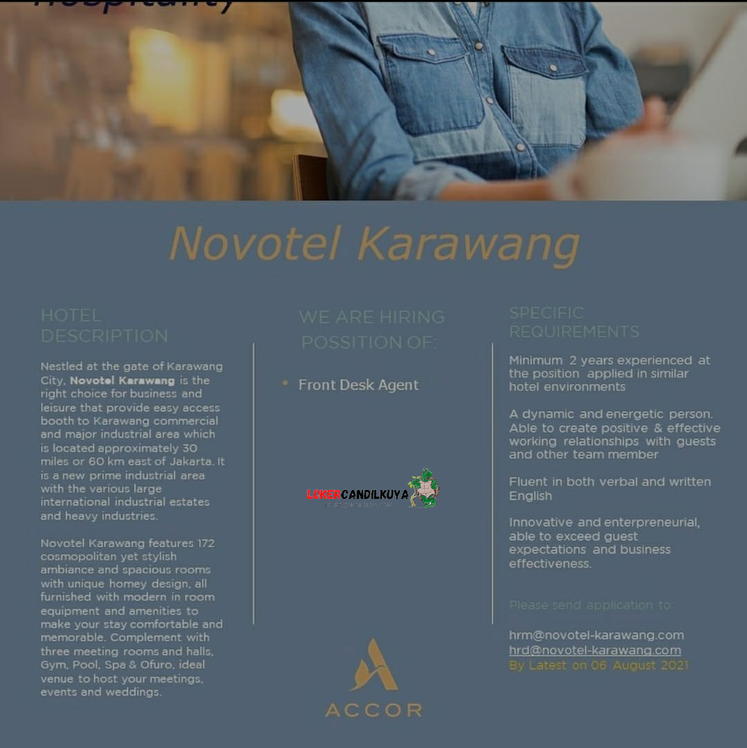 Lowongan Kerja Novotel Karawang
