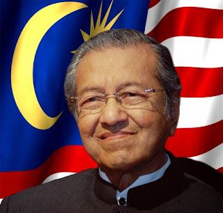 Foto Mahatir Mohamad Perdana Menteri Malaysia