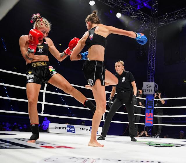 Zawodowe zwycięstwo Emilii Czerwińskiej na MFC 18