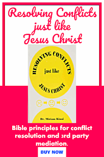 Resolving Conflicts just like Jesus Christ is one of the best nonfiction Christian books worth reading.