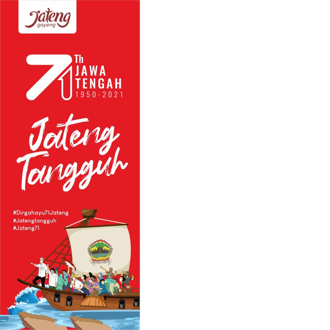Link Bingkai Twibbon HUT Provinsi Jawa Tengah 2021 - Jateng Tangguh