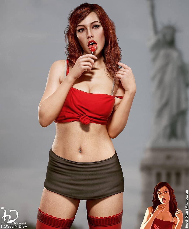 Artista transforma personagens da cultura geek em modelos 3D hiper-realistas