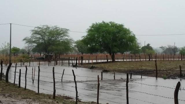 Rafael Fernandes registra chuva de 107 mm no final de semana