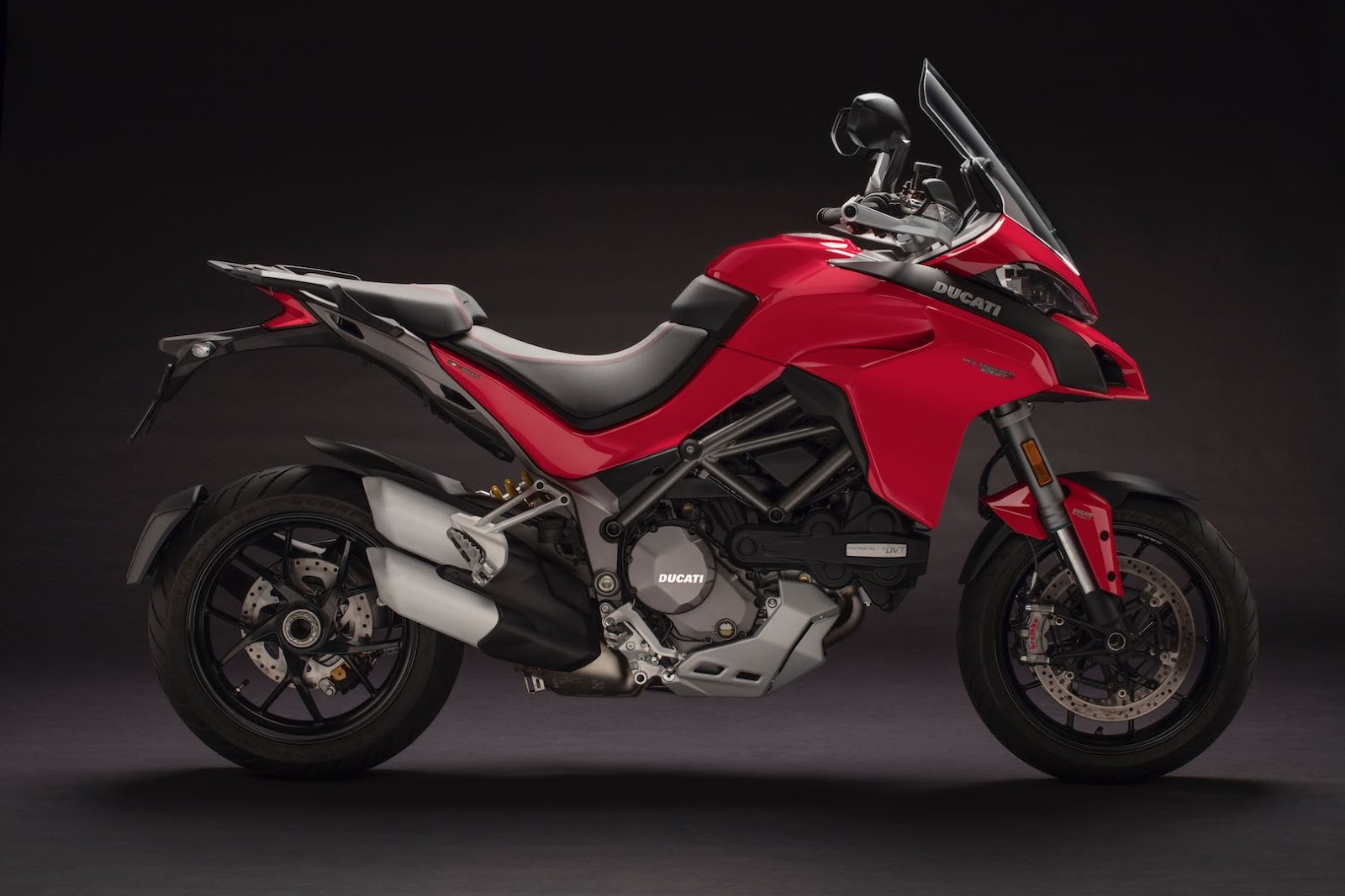 The Standard Multi 1260 Will Be Available In Ducati Red. The S And Du0027Air  Will Be Sporting White Or Volcano Gray Livery And Gold Wheels: