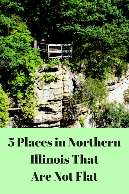 5 Places in Northern Illinois that are not Flat