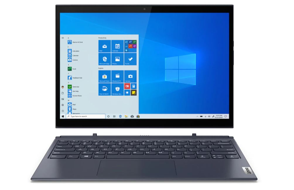 Lenovo Yoga Duet 7i 13IML05 77ID, Laptop Hybrid 2-in-1 Bertenaga Intel Comet Lake