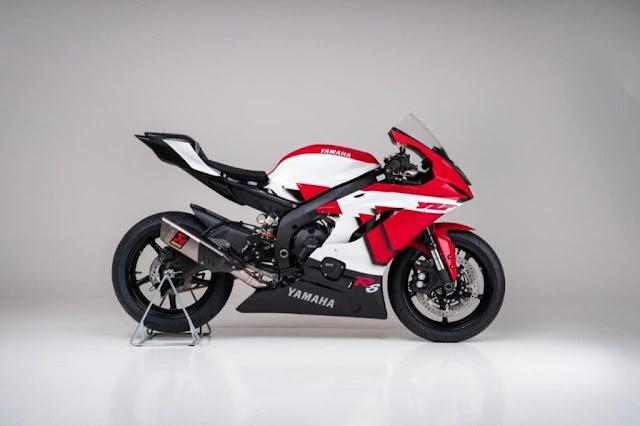 Ficha técnica Yamaha R6