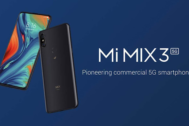 Xiaomi Mi Mix 3 5G flagship features and pricing