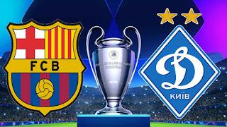 مشاهدة مباراة برشلونة وديناموكييف اليوم دوري ابطال اوروبا