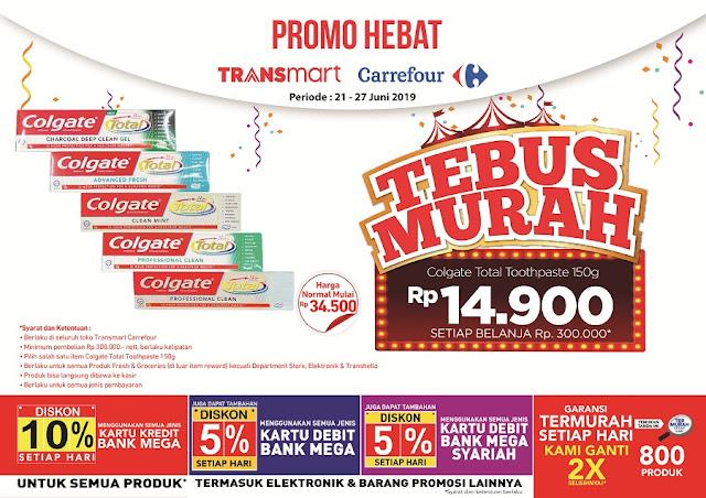 #Transmart #Carrefour - #Promo Hebat Tebus Murah Periode 21 - 27 Juni 2019