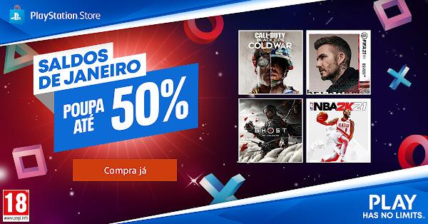 Saldos de Janeiro chegam à PlayStation®Store com descontos únicos em grandes títulos para a PlayStation®4 e, pela primeira vez, para a PlayStation®5
