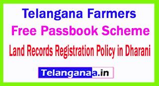 Telangana Farmers Free Passbook Scheme