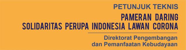 etunjuk Teknis Pameran Daring Solidaritas Perupa Indonesia Lawan Corona
