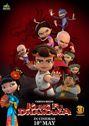Chhota Bheem Kung Fu Dhamaka 2019 HDRip 720p Dual Audio In Hindi English