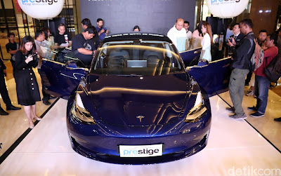 Tesla's lowest price to Indonesia still billions