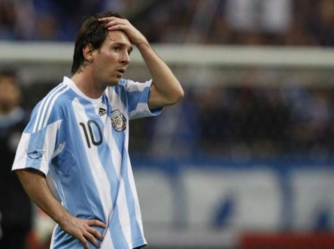 Lionel Messi Red Card 2005