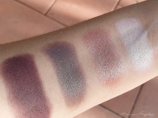 ombretti swatches