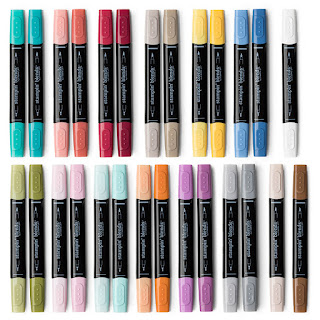 Stampin' Blends Marker Collection by Stampin' Up! Order from Mitosu Crafts UK Online Shop