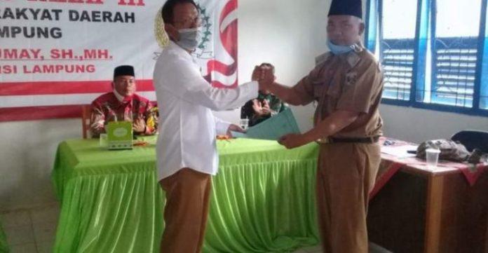 Ketua DPRD Lampung Reses di Dapil Lampung Tengah Serap Aspirasi Masyarakat
