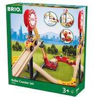 Jouet en bois de la marque Brio le circuit grand huit