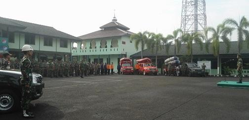 Kasdim 0506/Tgr Pimpin Apel Siaga Banjir