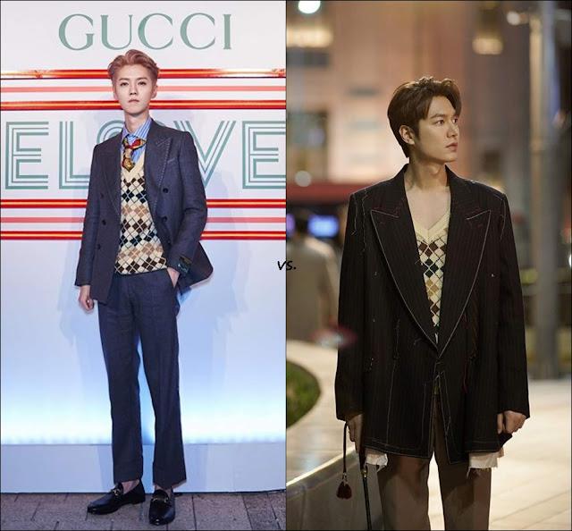👔 Luhan vs Lee Min Ho