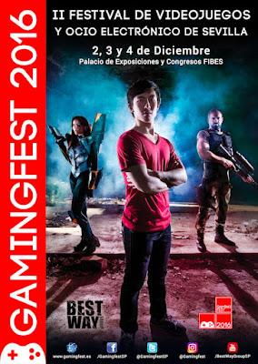 Gamingfest 2016 Sevilla - Ricardo Espiau