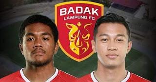 Billy Keraf dan M Sabil Gabung Badak Lampung FC