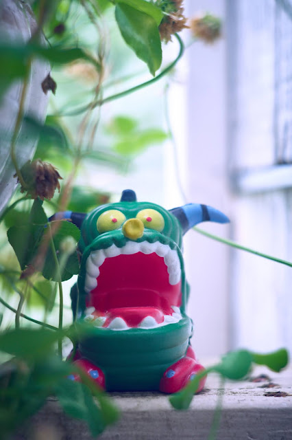 Monster in the green