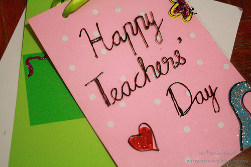 teachers day card making ideas