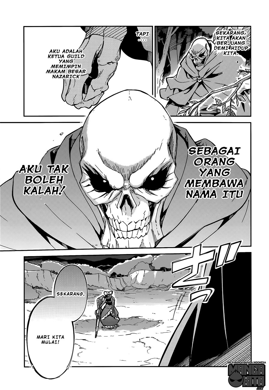 Komik Overlord chapter 13 Bahasa Indonesia