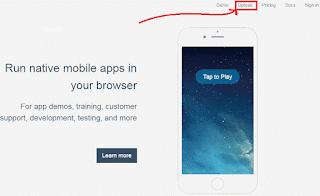 تشغيل تطبيقات الاندرويد و الايفون على أي متصفح