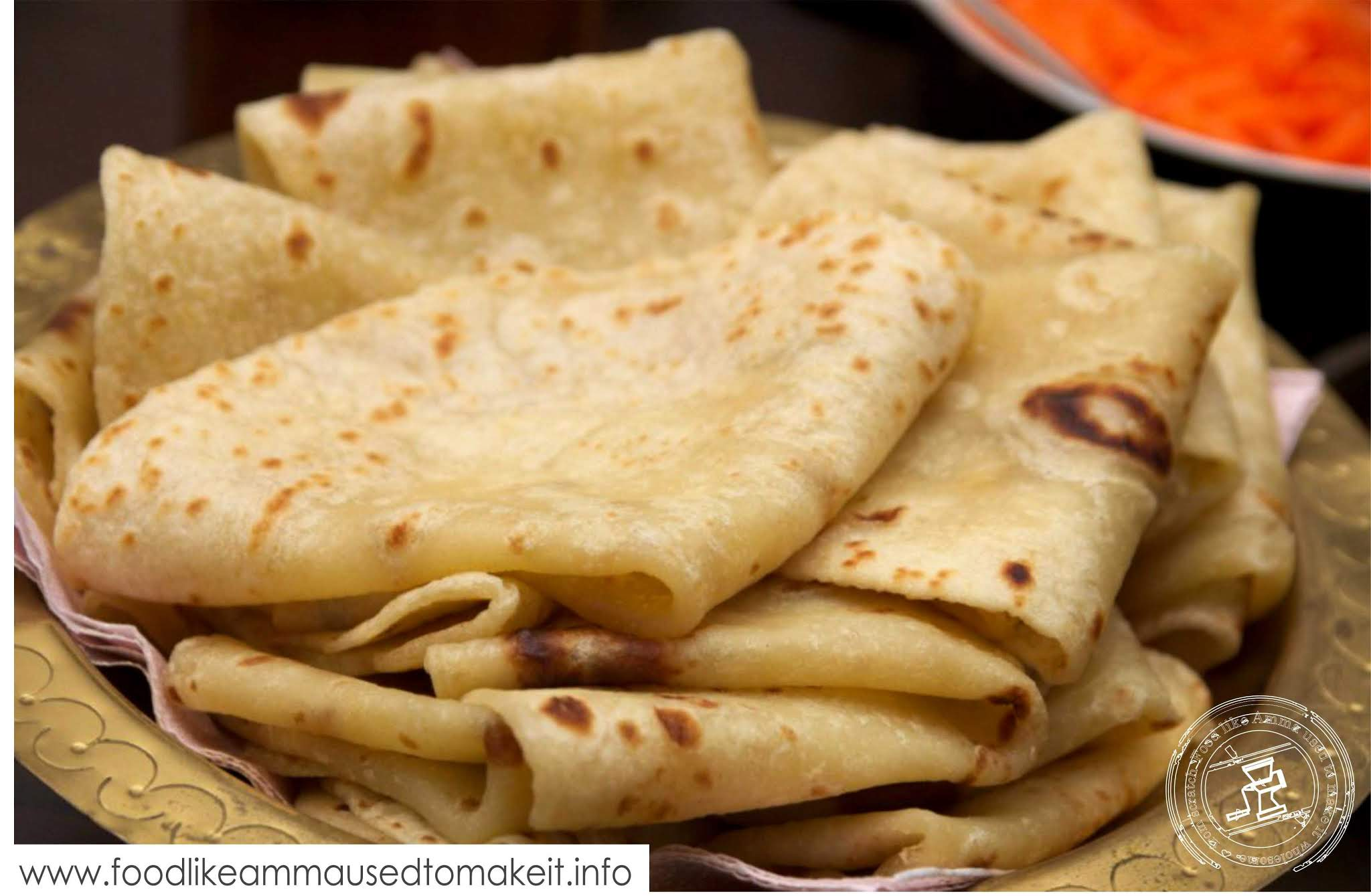 South African Soft Roti Recipe