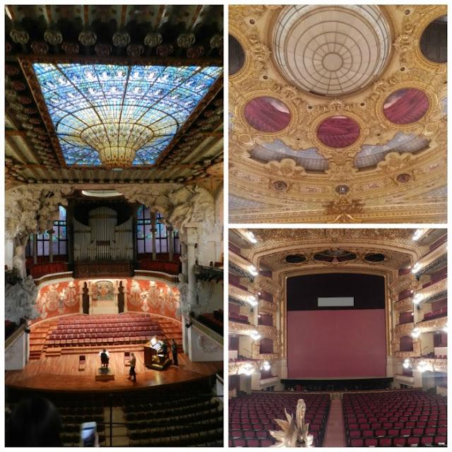 Palau de la Musica Catalana e Grand Teatre del Liceu