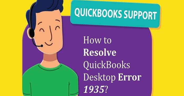 How to Resolve QuickBooks Desktop Error 1935?