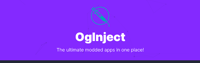 oginject vip, unlimited modded apps and games