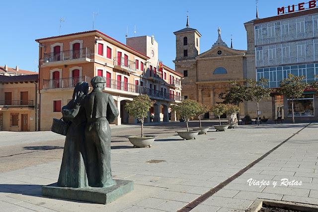 Plaza Mayor de Valencia de Don Juan, León
