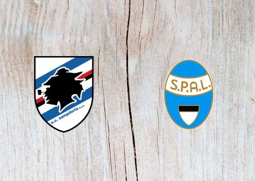 Sampdoria vs SPAL 2013 - Highlights 04 December 2018