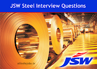 JSW Steel Interview Questions