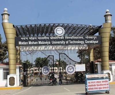 MMM Gorakhpur Admission Form 2020